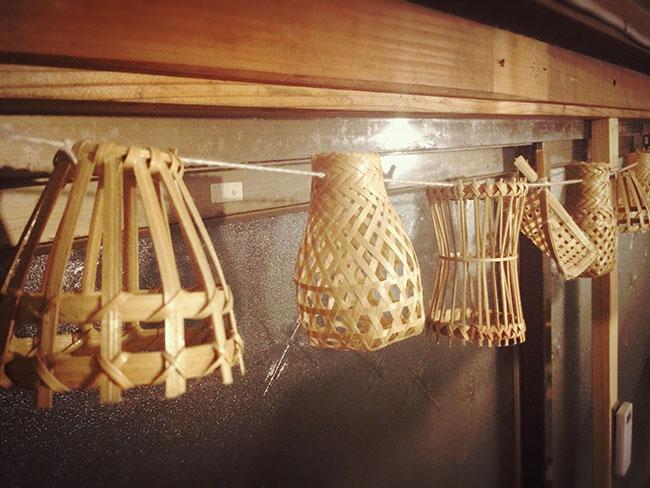竹のガーランド