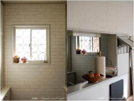 白で統一した引っ越し前のキッチン