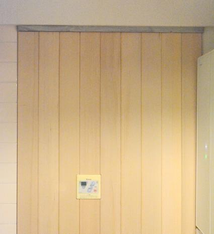 賃貸OK原状回復可能な板壁設置