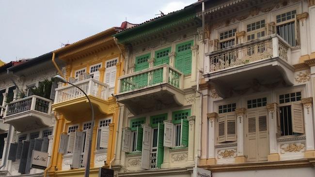 プラナカン建築の住宅