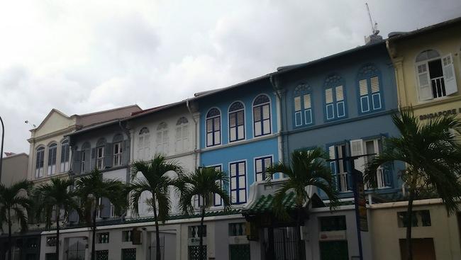プラナカン建築の街並み