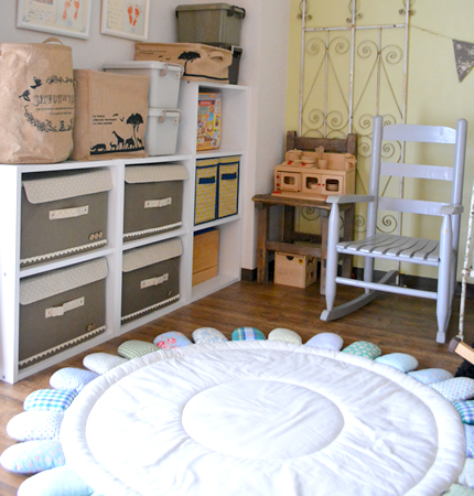 子供部屋のおもちゃをすっきり収納