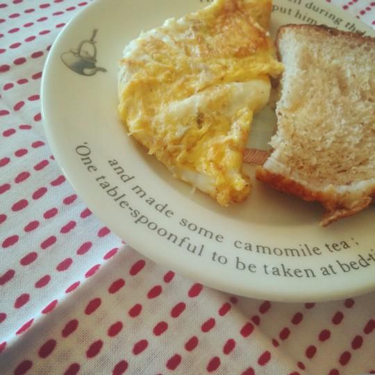 突然やってくる、ちゃんと朝ごはんがたべたい日。