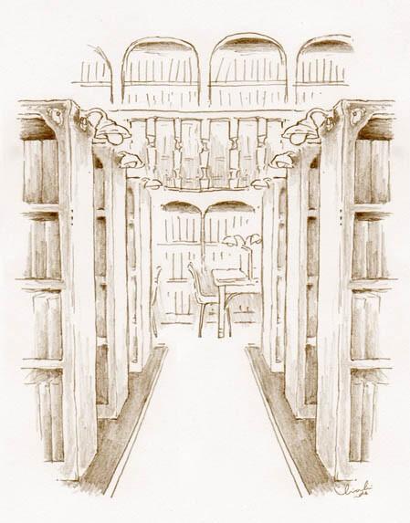【妄想てづくり暮らし】図書館に住む?ぐるり一面、本棚に囲まれたお部屋