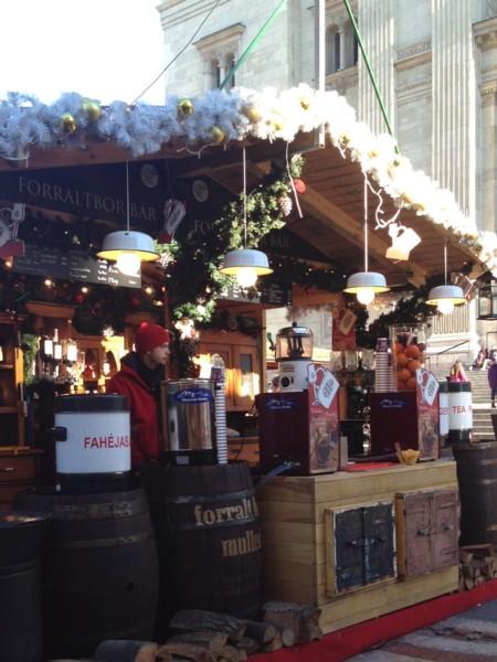 街なかの小屋たち①クリスマスマーケットの小屋