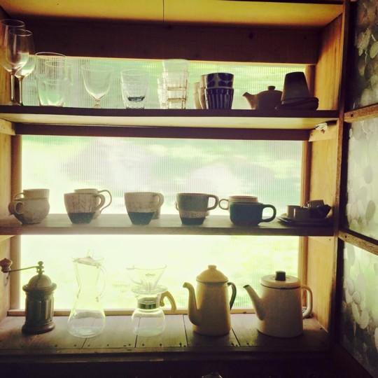 築80年の古い民家を夫婦でリノベーション!~わたしの食器棚~
