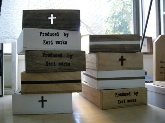 使い方は無限大!オリジナルの手作り木箱に収納して、素敵空間をつくっちゃおう。
