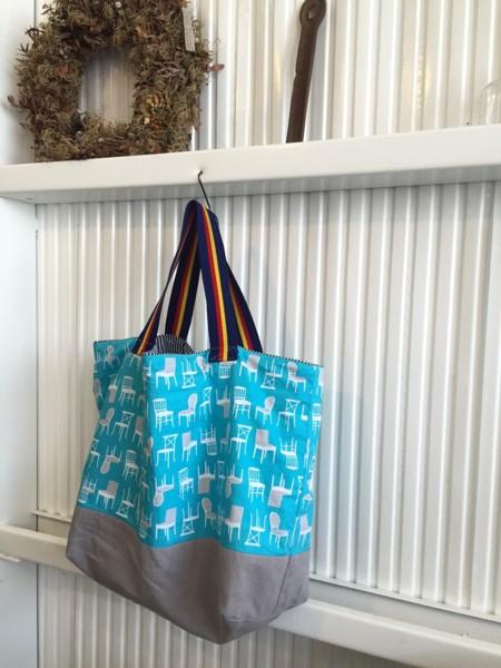 気にいった布をみつけたらシリーズ① 簡単お買い物bag編