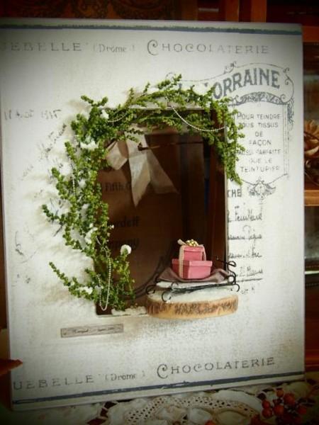 身近なものでちょこっとクリスマスなミニチュア作り