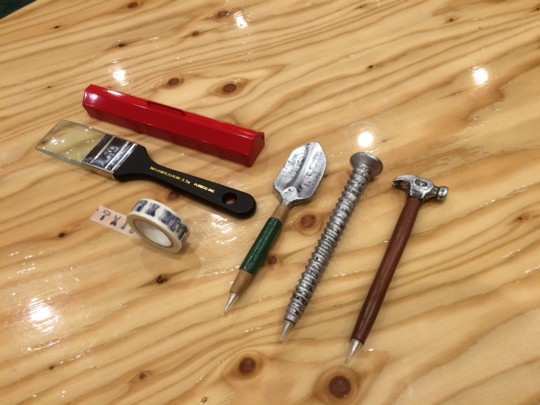 文具?工具?ついつい集めてしまうDIYっぽい身の回りの道具たち