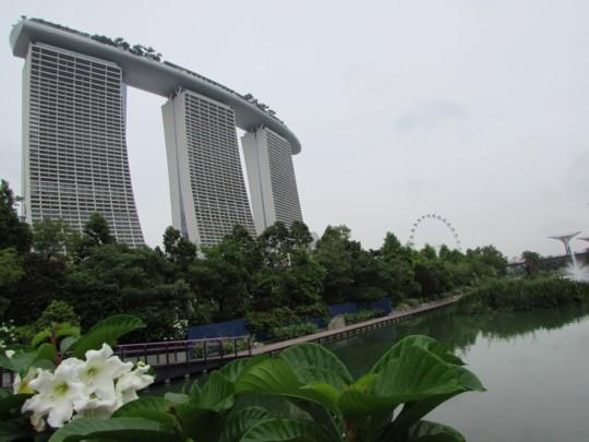 ステンシルで作るおでかけBAG♪~シンガポール☆ガーデンズ・バイ・ザ・ベイをお散歩~