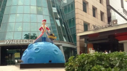 サンタクロースへ☆手作りフエルト手紙入れ~シンガポールからサマー・クリスマス~