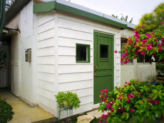 子育て中のママさんでつくる!沖縄の自然でつながる。ママの一歩を応援するコミュニティカフェ「はたけかふぇ。」オープンに向けての、DIY奮闘記!コミュニティスペース内装DIY④