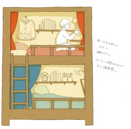 【妄想てづくり暮らし】2段ベッドの思い出