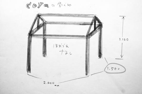 『ドイト×小屋女子』DIYルームができるまで、、『Tiny Station 411』 白い小屋・前編