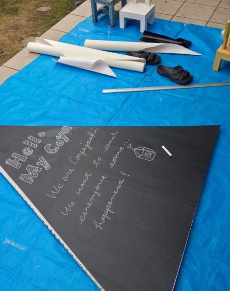 『週末DIY』 みんな大好き!黒板雑貨のある暮らし!