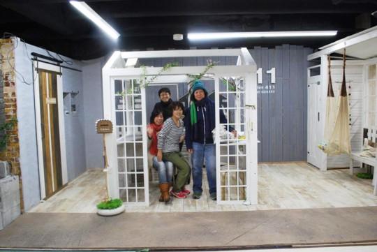 『ドイト×小屋女子』DIYルームができるまで、、『Tiny Station 411』 白い小屋・後編