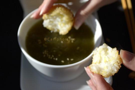 水曜日の手作りスープvol.12 とろろ昆布と梅干しのおつゆ