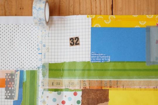 『週末DIY』大人女子のための紙工作〜コラージュでオリジナルのラッピングペーパーをつくろう〜