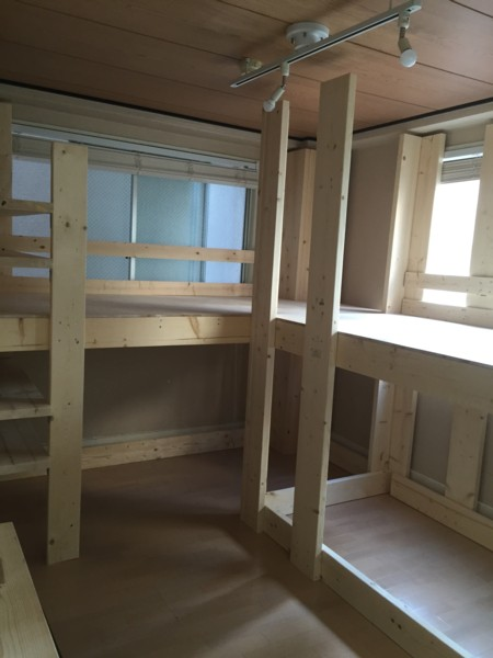 DIY de BUNK BED !