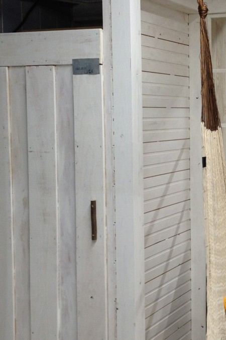 『ドイト×小屋女子』DIYルームができるまで、、端材で作った収納庫の扉