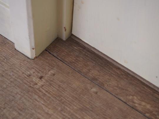 【セルフリノベーション】床の色を変えたくて・・・フロアタイル貼りました♪