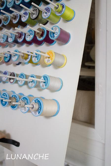 『週末DIY』ほしいものを必要なサイズで作ってみるシリーズ『糸立て』