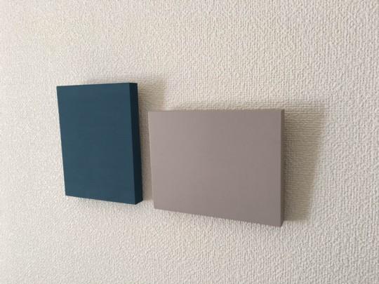 壁にお気に入りの色を!塗るだけカンタン♪インテリアパネル