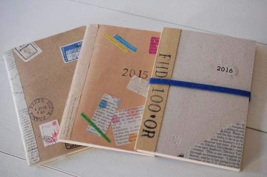 『週末DIY』ノートの表紙を取り替えてオンリーワンのノートを作ちゃおう
