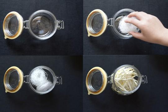 水曜日の手作りスープvol.18 もやしと春雨のヌードルスープ