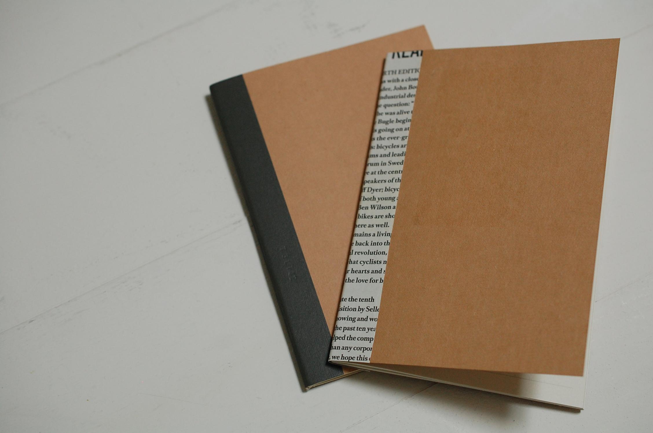 『週末DIY』無印良品のノートを自分好みにリメイク