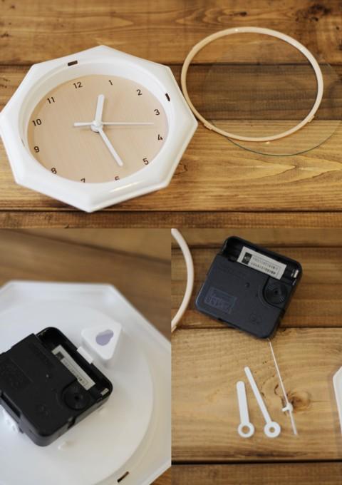 100円材料だけで作る!レトロ壁かけ時計