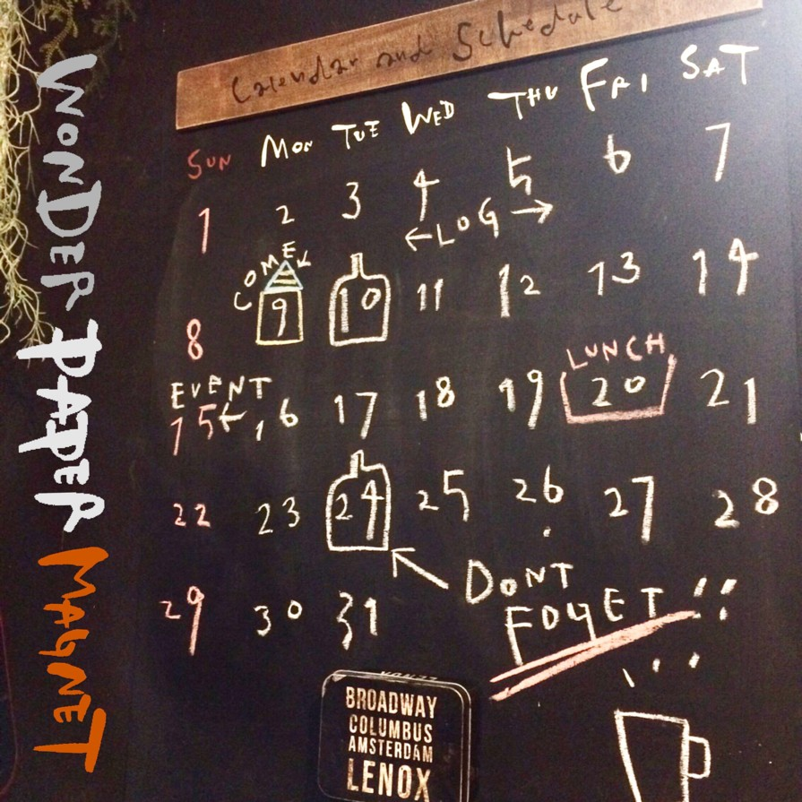 楽しく使える壁紙 ワンダーペーパーマグネット 小屋女子diyカフェ